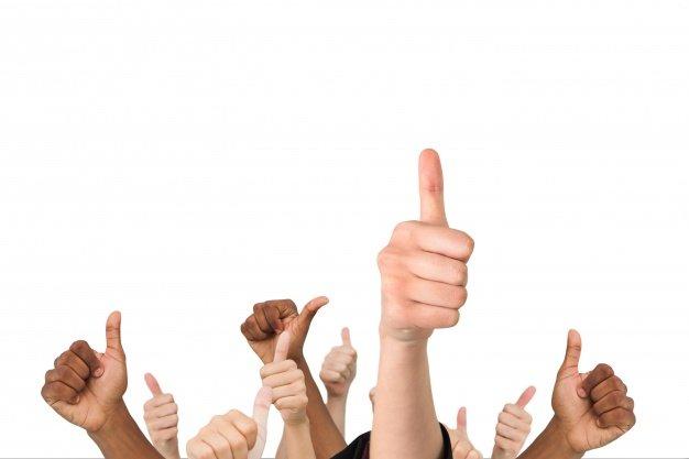 Zadowolenie z pracy - Thumbs UP